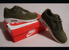 Nike Air Max 90 Ultra 2.0 LTR Leather Olive Canvas Gr. 42 42,5 Oliv 924447 301