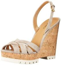 Nine West Women's Kindeyes Suede Wedge Sandal