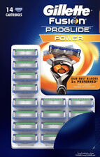 Gillette Fusion ProGlide Power Razor Blades Buy Any Unit 4,8,12 or 14 Blades
