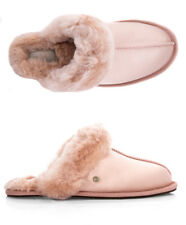 UGG W SCUFFETTE II SATIN Genuine Sheepskin Slippers Fall Winter Slippers