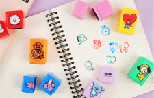 New Official BTS BT21  3 Step 3Color Stamp Free Shipping  Kpop Goods Bangtanboys