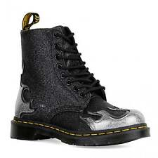 Dr Martens Womens Pascal Flame Boots (Pewter)