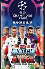 Champions league match attax topps 18/19 2018/2019 2018/19 duo pass master cards