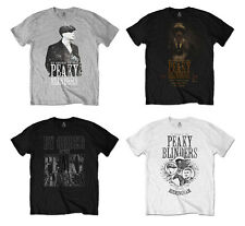 Peaky Blinders T-Shirt Official TV Series Tee By Order Shelby Brothers Garrison