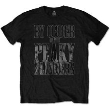 By Order Of The Peaky Blinders T-Shirt Official TV Series Shelby Brothers Tee