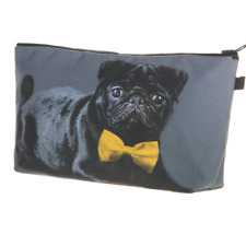 DOG/CAT MAKE UP BAG / PENCIL CASE - PUG, FRENCHIE, YORKSHIRE TERRIER, TABBY CAT