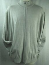 Ralph Lauren Polo Golf Gray Sweater Zip Front Wool Cashmere Blend XL or XXL