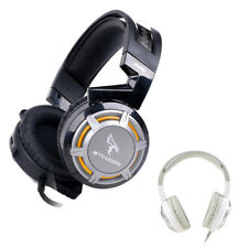 3X(SOMIC G926 USB Gaming Headset con microfono de luz LED para PC Juego Prof E3)