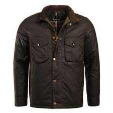 Barbour Netherley Wax Jacket Olive BARBOUR SALE - 20% OFF