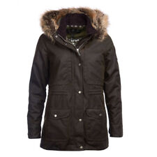Barbour Womens Ventnor Wax Jacket Olive BARBOUR SALE - 20% OFF