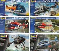 Revell 1/32 Aircraft Helicopter Military Civilian New Plastic Model Kit 1 32