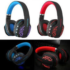 Stereo Earphone LED Wireless Bluetooth Gaming Headset With Mic For PS4 For Xbox