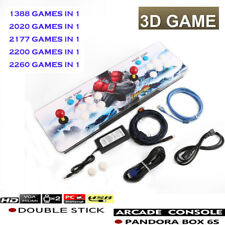 2020/2200/2260 In 1 Pandora Box 6s Arcade Games Console Double Stick HDMI VGA