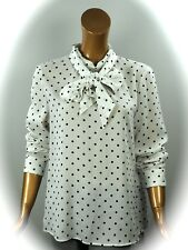 MARCCAIN COLLECTIONS  BLUSE MIT SCHLEIFE   Gr.N5/42  NEU