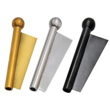 Metal Snuff Nasal Sniffer With Scraper Snorter Snuffer Tube Gold Black Silver