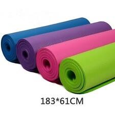 10mm Thick Durable Yoga Mat Non-slip Exercise Fitness Pad Mat Lose Weight HQ new