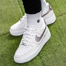 789bdb08546633 NIKE AIR FORCE 1 (GS) Sneakers Shoes Women s Sport Beige Trainers 314219-021