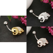 Stainless Steel Belly Button Ring Hypoallergenic 14 Gauge Navel Body Jewelry