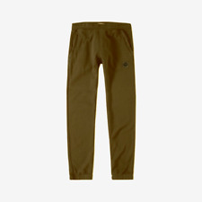 Stone Island Logo Patch Joggers - Olive - REDUCED, WAS £160, NOW £120!!