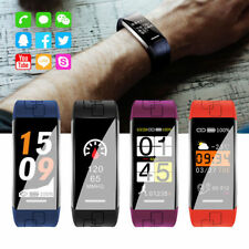 Pulsera Reloj Inteligente Ritmo Cardiaco Podómetro Banda Smart Watch Bluetooth
