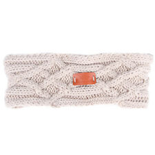 Aran Traditions Womans Winter Warm Knitted Style Fashion Headband