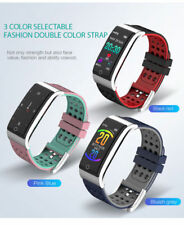 Bluetooth Smart Watch Reloj Pulsera inteligente Ritmo Cardiaco Deporte PPG+ECG