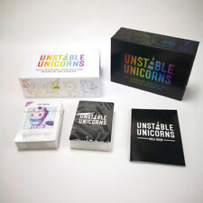 Unstable Unicorns Black Edition & All Expansion Packs NSFW Card Game 4 NEW BOXES