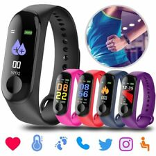 Bluetooth Impermeable Reloj Inteligente Smart Watch Fitness Para Android iOS Nue