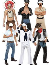 3419acad7905 Official Village People Fancy Dress Costume YMCA 70 s Stag Do Gay Pride  Novelty