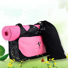 Yoga Waterproof Sport Duffle Mat Bag Tote Holder Carrying Gym Fitness Handbag BE