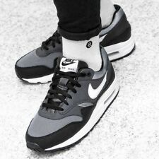2f45ae9d3a622 Men 039 s Nike Air Force 1 GS Black White Trainers 596728 009 Size ...