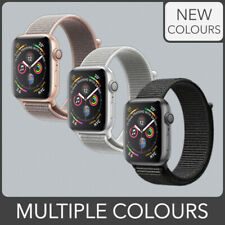 Woven Nylon Sport loop Band Strap for Apple Watch Series 4 3 2 1 Multiple Colour