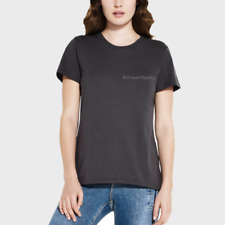 Womens Black T Shirt Made From Recycled Plastic