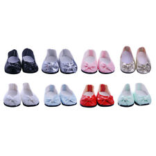 Cute Dolls Bow Shoes for 18'' American Girl Our Generation Doll Sneakers Clothes