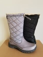 UGG Australia SNOWPEAK Quilted Waterproof Grey Black Boots 5 6 11 I LOVE SHOES