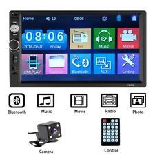 7 Inch 2 Din Stereo Car MP5 Player Bluetooth Touch Screen Radio FM USB AUX + Cam