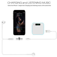 Earphone For iPhone 7 Lightning To 3.5mm Headphone Jack Plug Aux Adapter Cable
