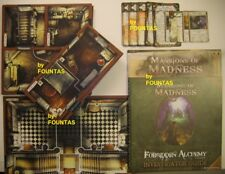Mansions of Madness First Edition: replacement map tile investigator cards token
