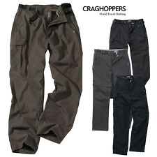 Craghoppers Classic Mens Reinfored Cargo Combat Kiwi Trousers Outdoor Zip Pocket
