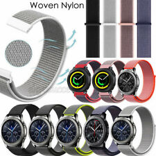 Flash Loop Woven Nylon Sport Watch Band Bracelet For Samsung S3 Watch 42/46mm