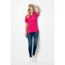 Kustom Kit Ladies Essential Poly/Cotton New Womens Short Sleeve Pique Polo Shirt