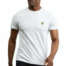 Lyle and Scott TS400V CREW NECK T-SHIRT WHITE