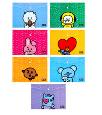 New Official BTS BT21 PP File  Pocket goods Bangtanboys Free Shipping