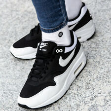 fa0ada42ee808 NIKE AIR MAX 1 Sneakers Shoes Women s Boys Sport Black Trainers 319986-034