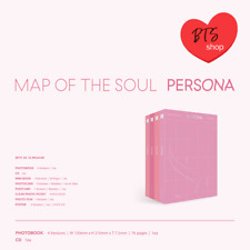 [BTSshop]BTS MAP OF THE SOUL : PERSONA CD+Photobook+Photocard+Mini Book +Poster