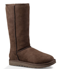 NIB UGG Youth Classic Tall II Boots in Chocolate size 13