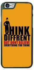 Charlie Chaplin Think Differently Phone Case for iPhone Samsung Google LG etc