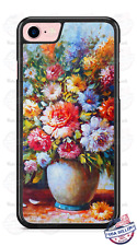 Flower Vase Oil Painting Design Phone Case for iPhone Samsung LG Google HTC etc.