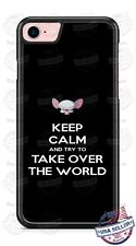 Funny keep calm and take over world Phone Case fits iPhone Samsung LG Google etc