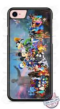 Walt Disney Mickey Mouse and Characters Phone Case Cover for iPhone Samsung etc